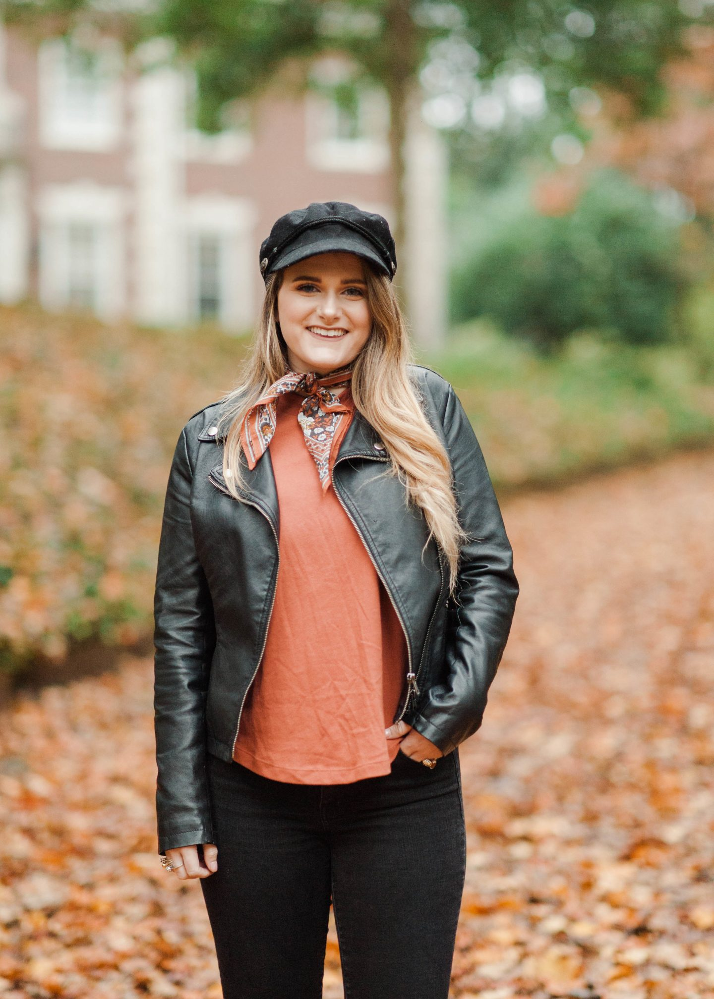 Styling A Cabby Hat This Fall