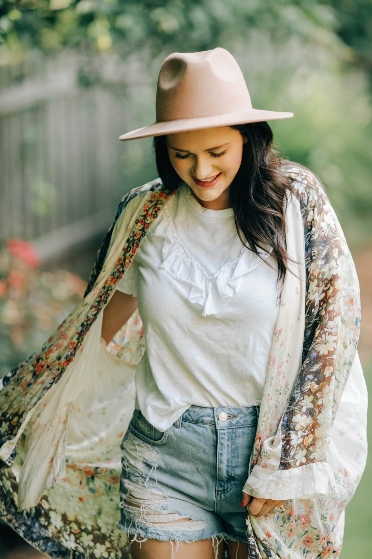 How To Style A Kimono As The Seasons Change