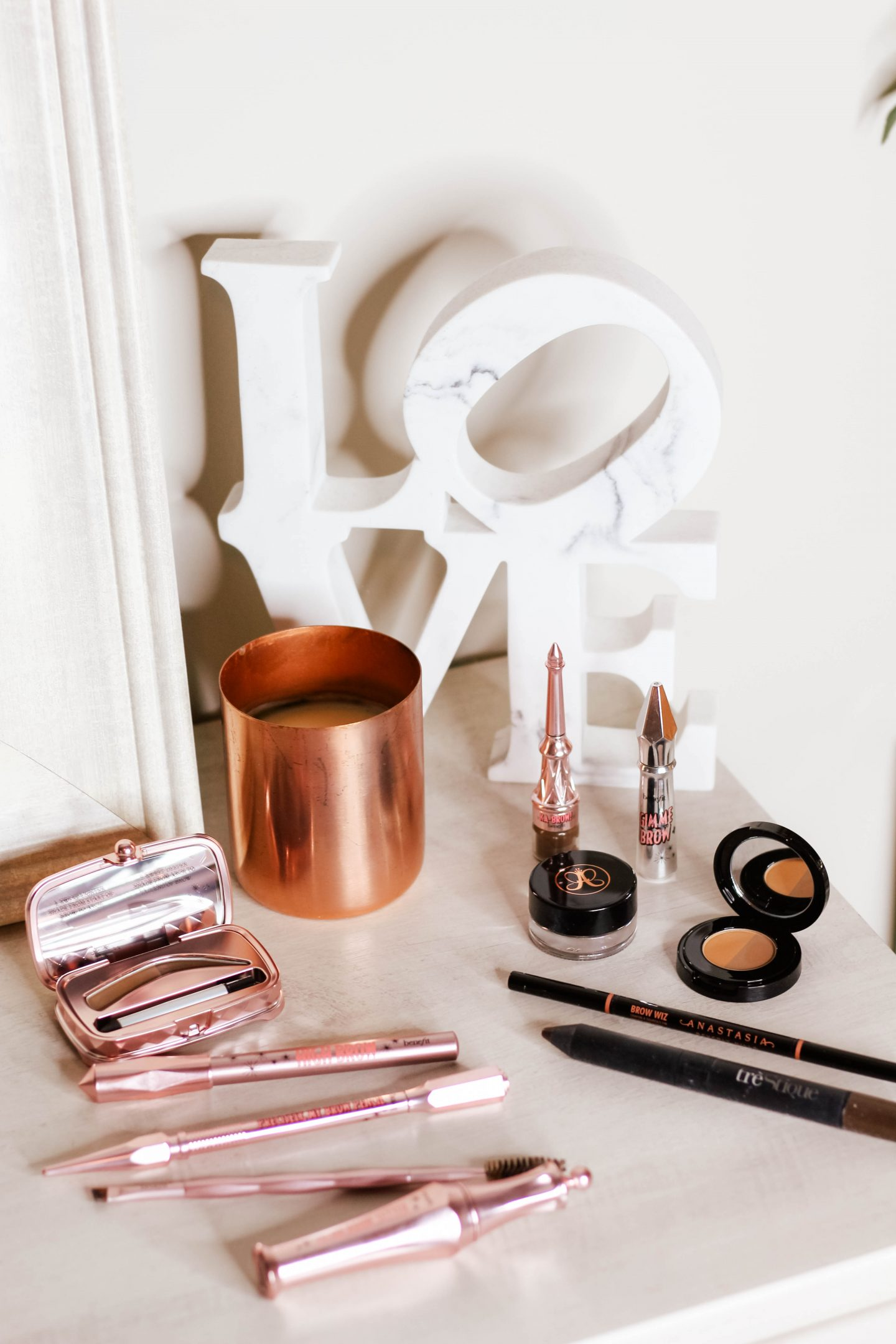 My Go-To Brow Products