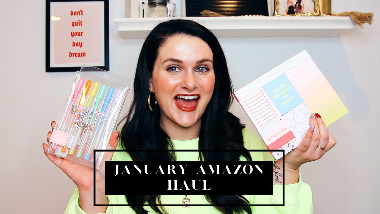 January 2020 Amazon Haul